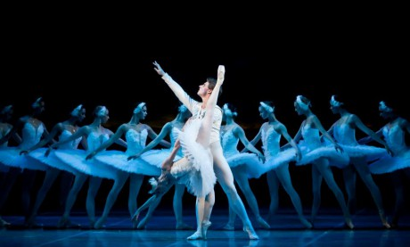 Swan lake Photo© Martin Divisek Prague State opera Alina Nanu and Michal Krcmar (10)